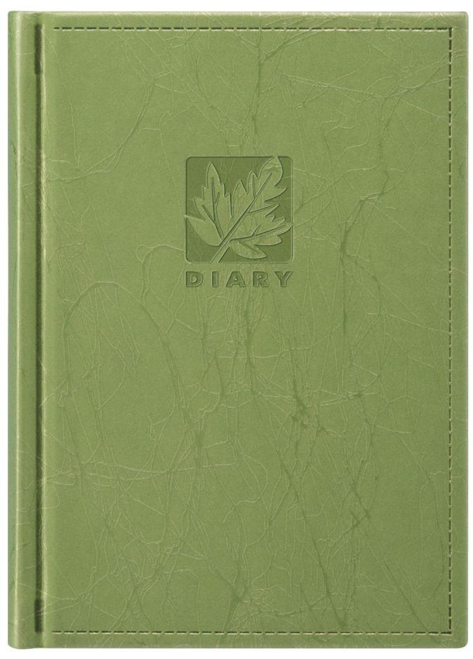 Ежедневник 105х150, SCRIBBLE (с золотым обрезом) (Зеленый)