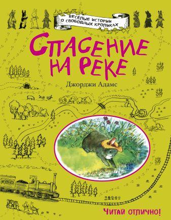 Джорджи Адамс - Спасение на реке обложка книги