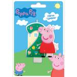 Свеча цифра №2_Peppa Pig Peppa Pig
