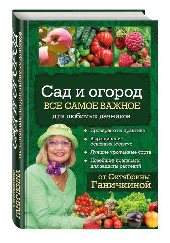 О. А. Ганичкина, А. В. Ганичкин - Сад и огород. Все самое важное для любимых дачников обложка книги