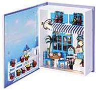 """Набор для хобби и творчества Декор. Набор для создания миниатюры """"Кафе в Санторини"""" (002-B)"""