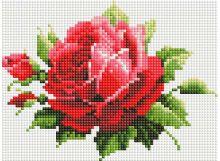 Мозаичные картины. Мерцающая роза (051-ST-PS)