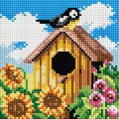 Мозаичные картины. Птичий домик (114-ST-РS)