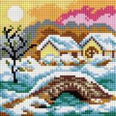 Мозаичные картины. Зимний день (127-ST-РS)