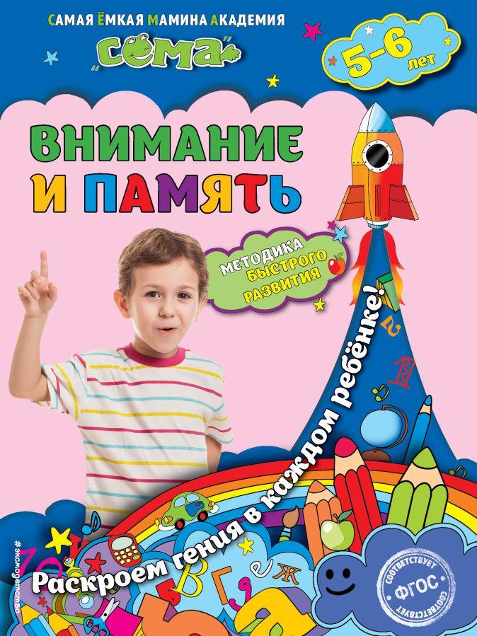С.В. Липина, Т.Г. Маланка - Внимание и память: для детей 5-6 лет обложка книги