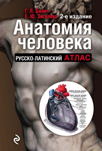 Анатомия человека: Русско-латинский атлас. 2-е издание - фото 1