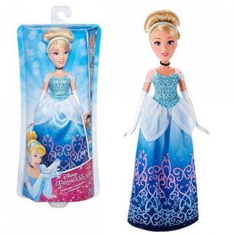 DISNEY PRINCESS - DISNEY PRINCESS Классическая модная кукла Принцесса. В ассортименте: Ариэль, Золушка и Рапунцель (B5284) обложка книги