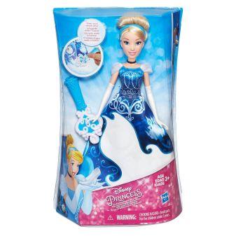 DISNEY PRINCESS - DISNEY PRINCESS Модная кукла Принцесса в в юбке с проявляющимся принтом в ассорт. (B5295) обложка книги