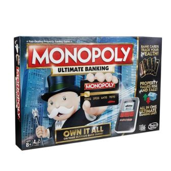 MONOPOLY - Настольная игра «Монополия» (с банковскими картами) обложка книги