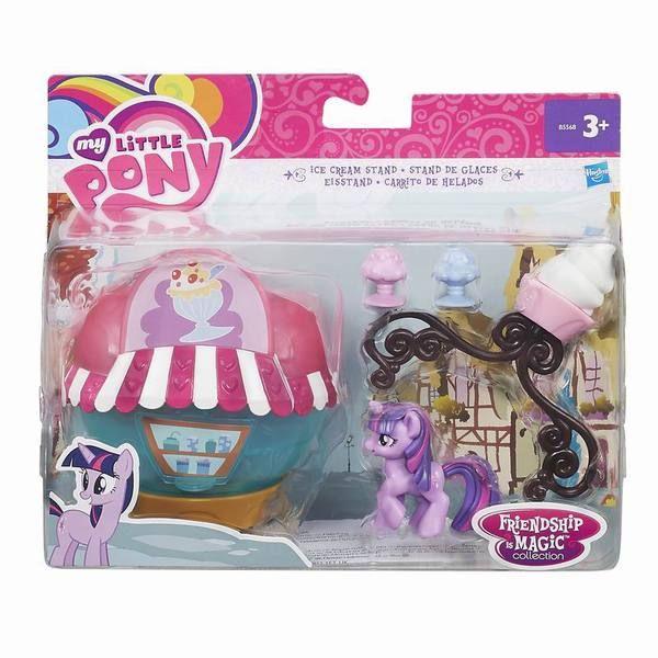 My Little Pony Коллекционный мини игровой набор пони MY LITTLE PONY