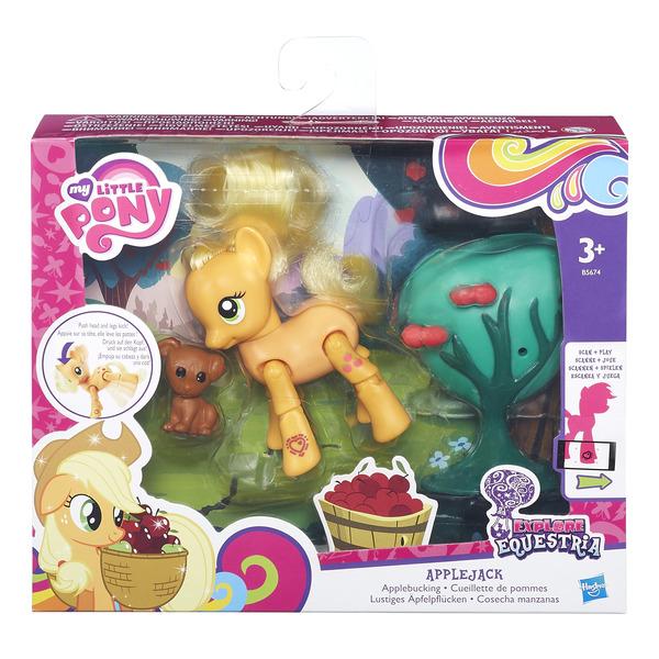 My Little Pony мини набор Пони с артикуляцией (в ассорт.) (B3602) набор hasbro my little pony пони с артикуляцией