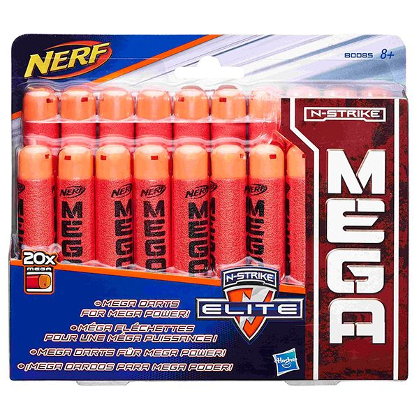 NERF МЕГА 20 стрел (B0085) NERF