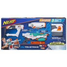 NERF МОДУЛУС Три-Страйк (бластер) (B5577)