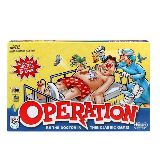 GAMES - Игра Операция (обновленная) (Настольная игра)(B2176) обложка книги