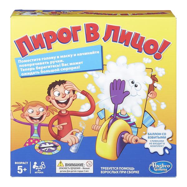 GAMES - Игра Пирог в лицо (Настольная игра) (B7063) обложка книги