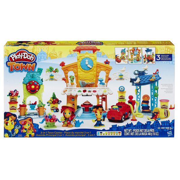 """Play-Doh Город Игровой набор """"Главная улица"""" (B5868) PLAY-DOH"""
