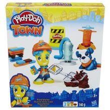 """Play-Doh Город Игровой набор """"Житель и питомец"""