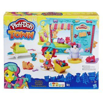 PLAY-DOH - Игровой набор для лепки Play-Doh Город. Магазинчик домашних питомцев обложка книги
