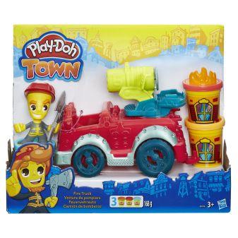 """PLAY-DOH - Play-Doh Город Игровой набор """"Пожарная машина"""" (B3416) обложка книги"""
