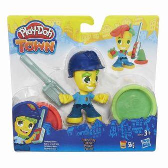 PLAY-DOH - Игровой набор для лепки Play-Doh Город. Фигурки обложка книги