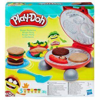 """PLAY-DOH - Play-Doh Игровой набор """"Бургер гриль"""" (B5521) обложка книги"""