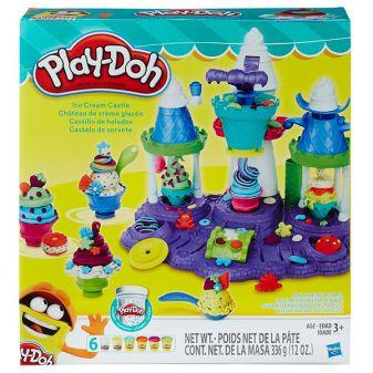 """PLAY-DOH - Play-Doh Игровой набор """"Замок мороженого"""" (B5523) обложка книги"""