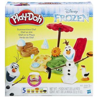 "PLAY-DOH - Play-Doh Игровой набор ""Летние приключения Олафа"" (B3401) обложка книги"