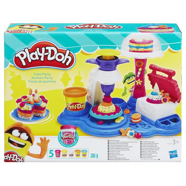 """PLAY-DOH - Play-Doh Игровой набор """"Сладкая вечеринка"""" (B3399) обложка книги"""