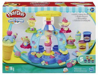 """PLAY-DOH - Play-Doh Игровой набор """"Фабрика Мороженого"""" (B0306) обложка книги"""