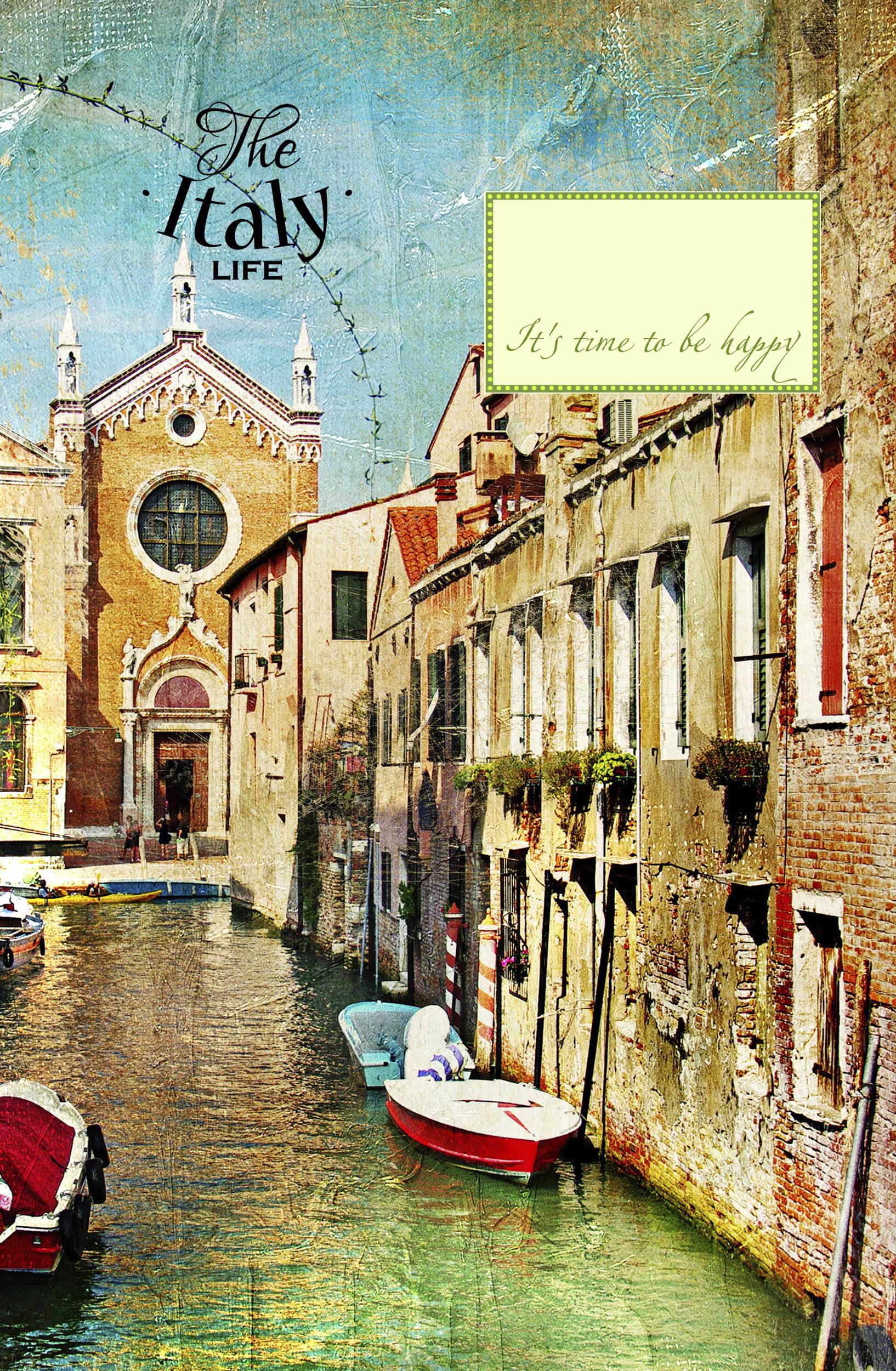 Блокнот. Венецианские каналы (А5) от book24.ru