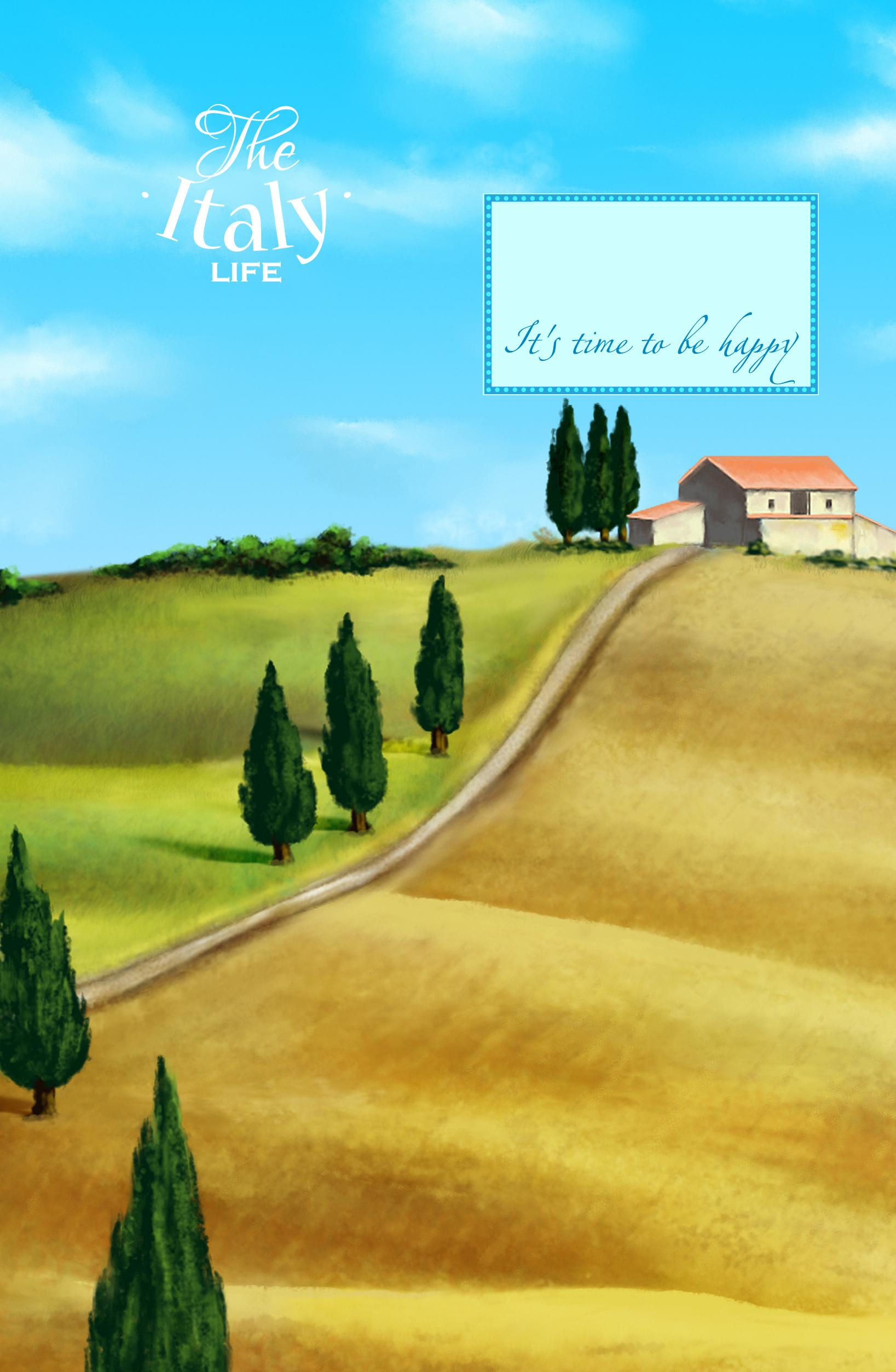 Блокнот. Утро в Тоскане (А5) orange note творческий блокнот а5