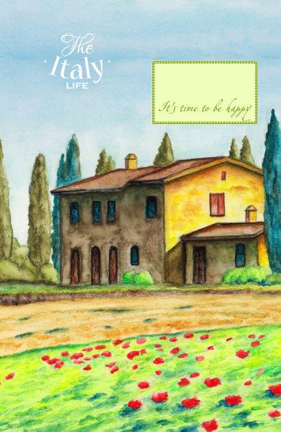 Блокнот. Домик в Италии (А5) - фото 1