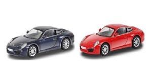 АВТОДРАЙВ. Модель машины масштаб 1:32 PORSCHE 911 CARRERA S (глянц, черн., красн.) (Арт. И-1202)