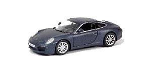 АВТОДРАЙВ. Модель машины масштаб 1:32 PORSCHE 911 CARRERA S (матовая, черная) (Арт. И-1234)