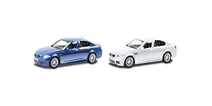 АВТОДРАЙВ. Модель машины масштаб 1:43 BMW M5 (глянц., синяя, белая) (Арт. И-1194)