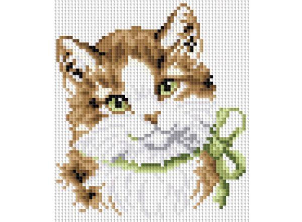 Мозаика на подрамнике. Кошка Алиса (015-ST-S)