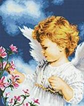 Набор для хобби и творчества Мозаика на подрамнике. Малютка Ангел (169-ST-S)