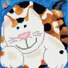 Набор для хобби и творчества Мозаика на подрамнике. Кошка Лапочка (283-ST-S)