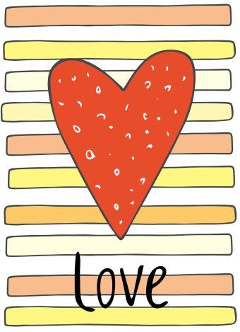 """Блокнот для записей """"Love"""" (А6)"""