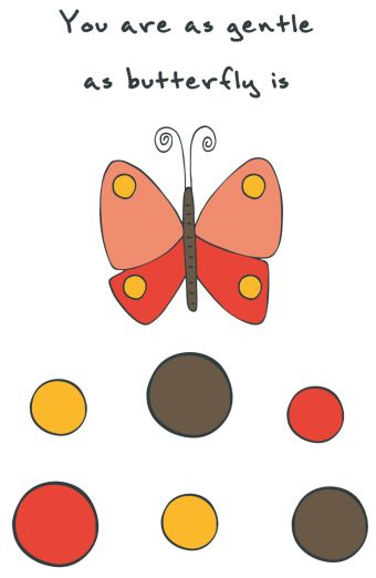 "Блокнот для записей ""You are as gentle as butterfly is"" (А5)"