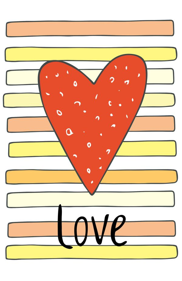 """Блокнот для записей """"Love"""" (А5)"""