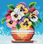 Набор для хобби и творчества 057-ST-PS Цветы в горшочке