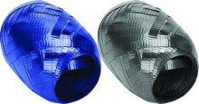 Набор из 2-х упаковочных металлизированных лент, (синий, серебро) в PP пакете с подвесом, размер 0,5 cм х 10 m, упак. /12/192 шт.