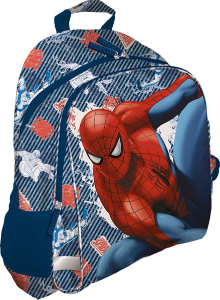 Рюкзак, мягкая спинка с вентиляционной сеткой39х31х12 см Spider-man