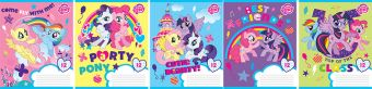 Тетр 12л скр А5 лин MP24/5-EAC ВД лак My Little Pony