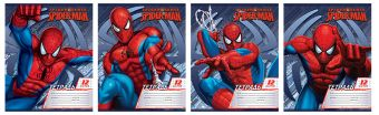 Тетр 12л скр А5 лин карт SM174/4-g-VQ Spider-man