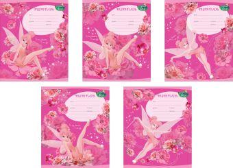 Тетрадь ученическая,12л Tink Pink (КосЛинейка)