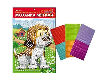 МОЗАИКА МЯГКАЯ. формат А4 (29.5х20 см) СОБАЧКА (Арт. М-4741)