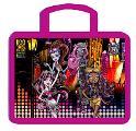 "Папка-сумка ""Monster High"" Boo York, текстиль, 35*4*26 см, c ручками, формат А4"