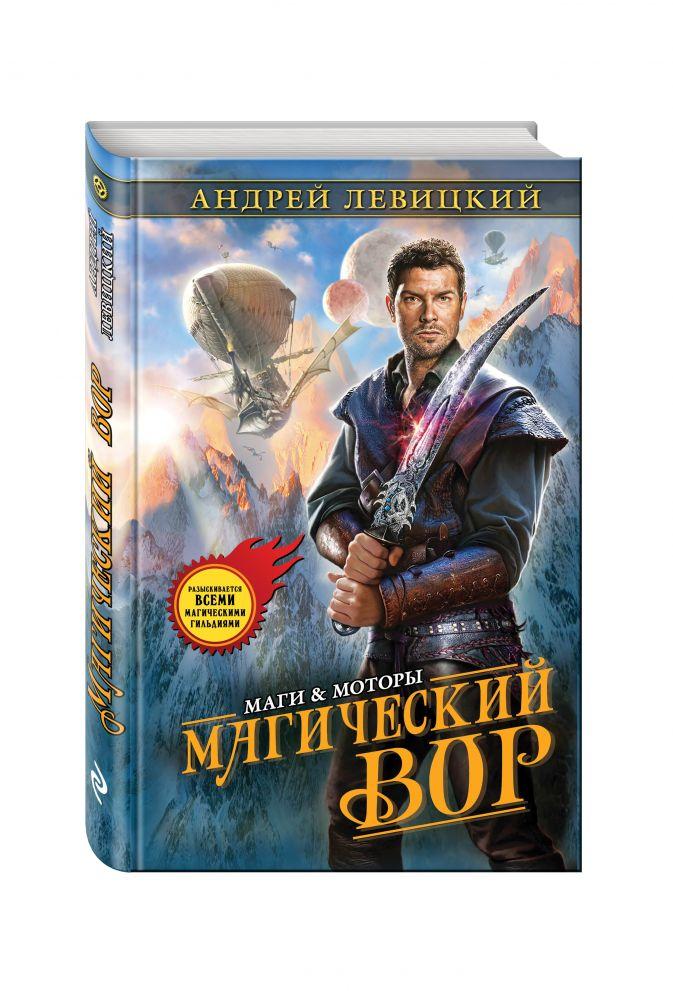 Андрей Левицкий - Магический вор обложка книги